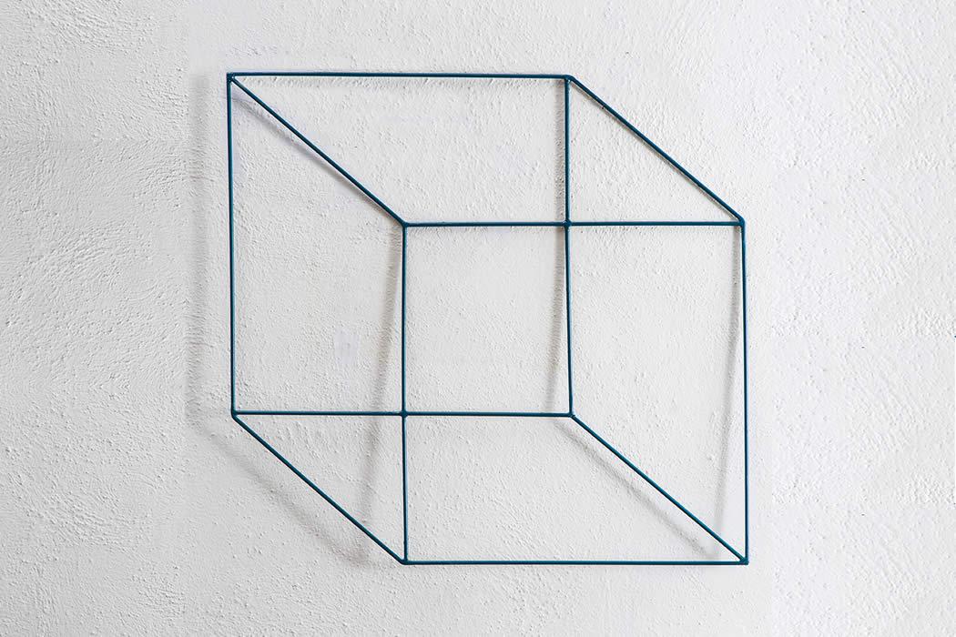Cubo Di Ferro.Cubi Schiacciati In Filo Di Ferro Cotto Mia Home Design