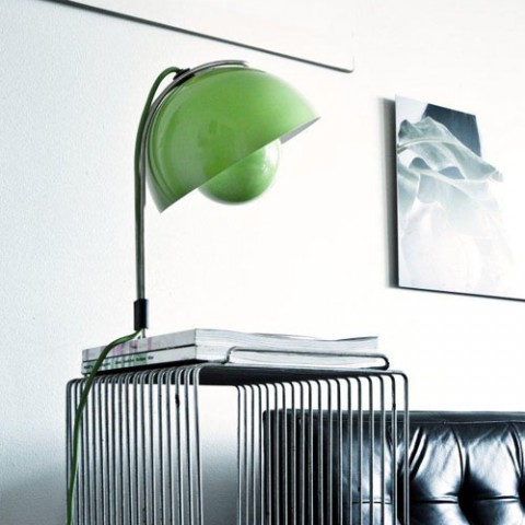 flowerpot-vp4-lamp-&tradition-copenhagen- verner-panton-copper-matt-black-white-brass -galleriamia