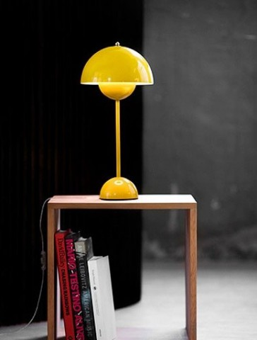 flowerpot-VP3-&tradition-copenhagen-lamp-yellow-white-orange-red-mint-turquoise-laquered steel