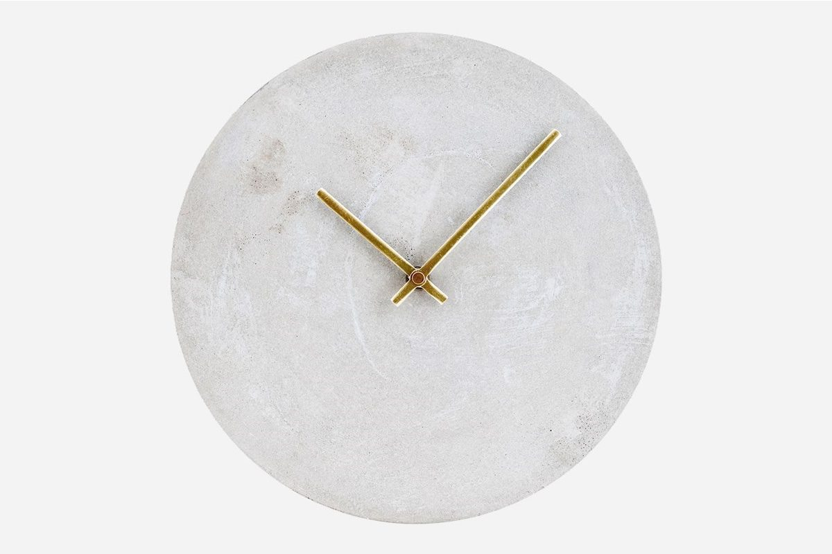 wall clock by house doctor galleria mia e shop. Black Bedroom Furniture Sets. Home Design Ideas
