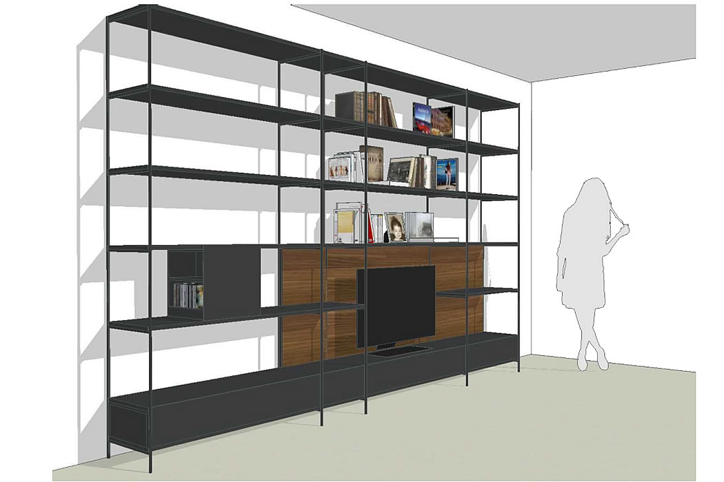 Libreria xy by extendo arredamento galleria mia