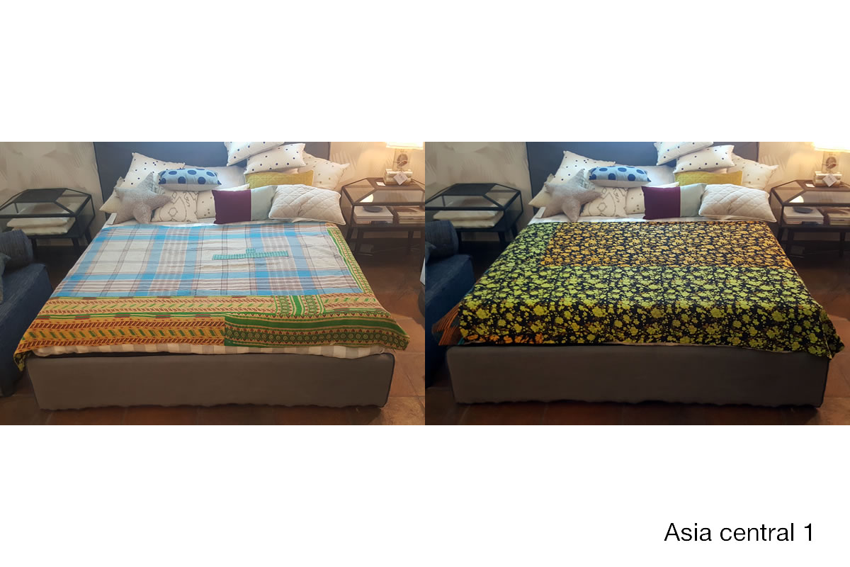 Plaid asia central by le monde sauvage galleria mia e shop - Le monde sauvage meubles ...