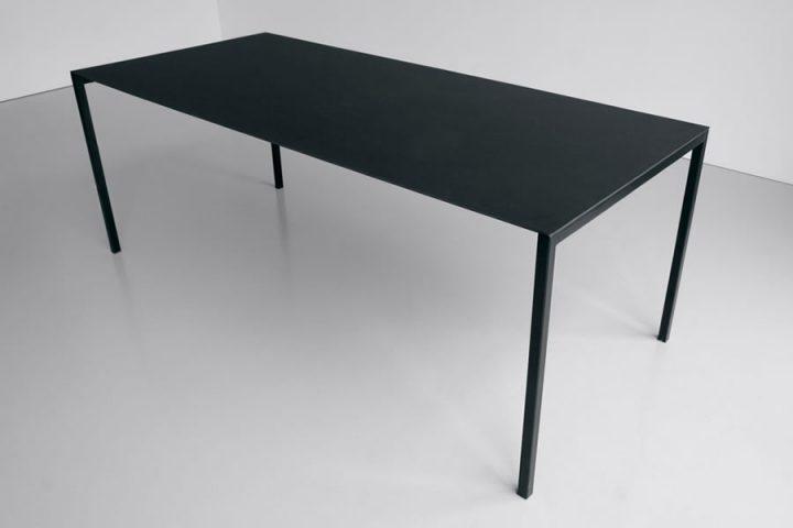 Tavolo sintesi di extendo mia home design gallery for Tavolo nero allungabile
