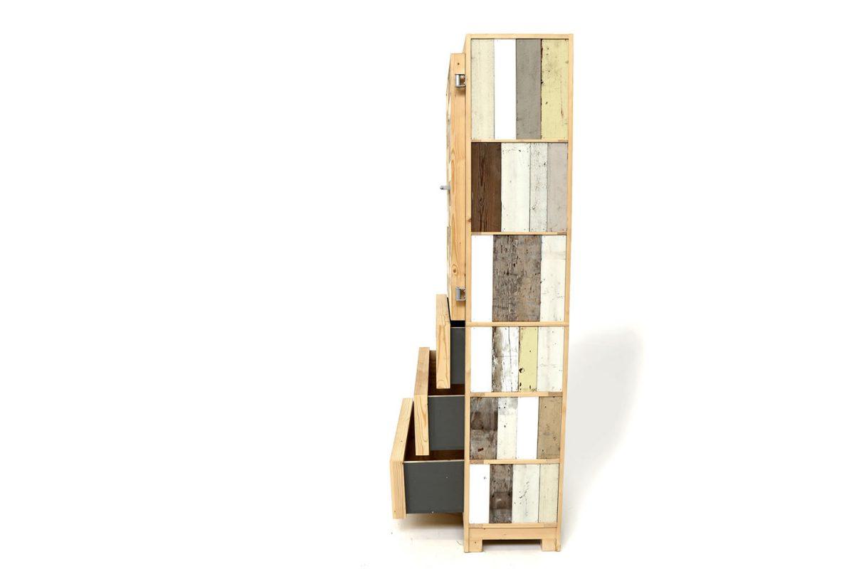 armadio legno classic cupboard scrapwood piet hein eek 4