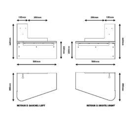 comodino plug and dream di dcw editions e shop galleria mia. Black Bedroom Furniture Sets. Home Design Ideas