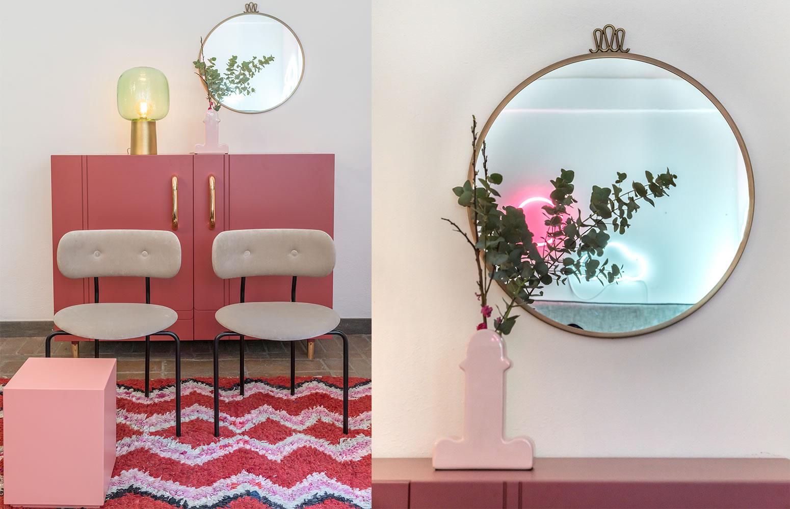 Allestimento-shop Galleria Mia Roma store | Gubi House Doctor Desalto Bd-barcelona Miniforms