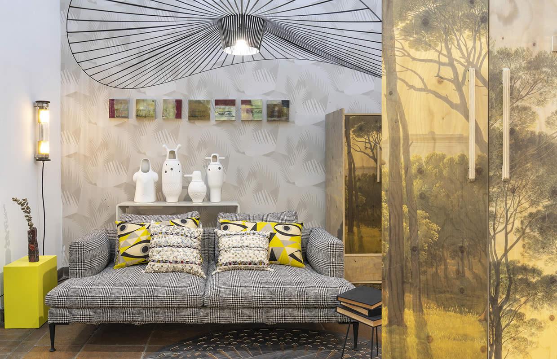 Allestimento – Shop fitting Galleria Mia Roma store | Xmas 2018 Dcw Petite Friture Piet Hein Eek Driade