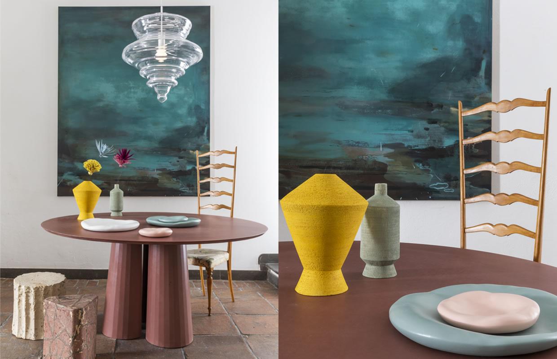 Allestimento-Shop Fitting Galleria MIA Roma store | Lasvit Federica Bubani Forma & Cemento