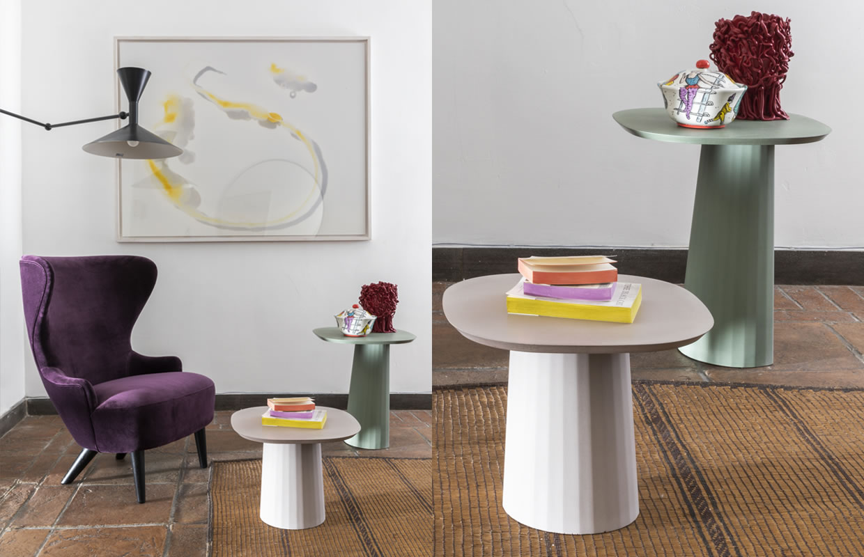 Allestimento-Shop Fitting Galleria MIA Roma store | Forma & Cemento Gaetano Pesce