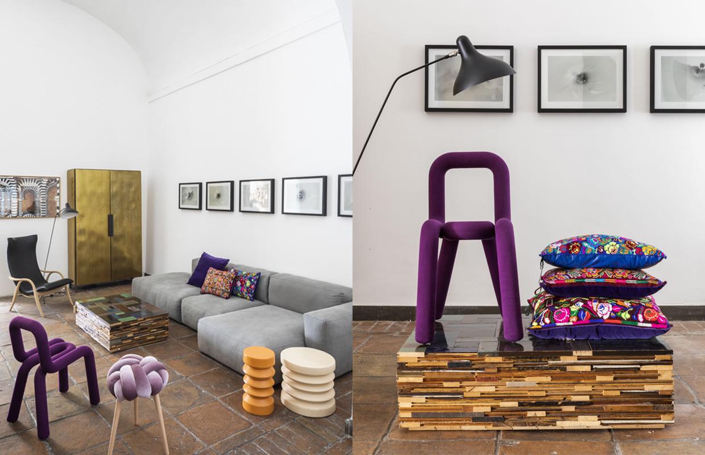 Allestimento-Shop Fitting Galleria MIA Roma store | Moustache Piet Van Eek House of ita Hay