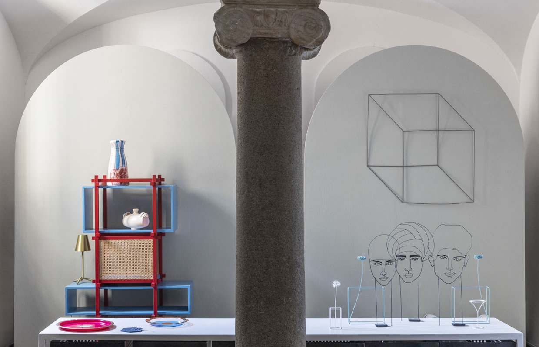 Allestimento-Shop Fitting Galleria MIA Roma store | Sciortino Gaetano Pesce Sanguino